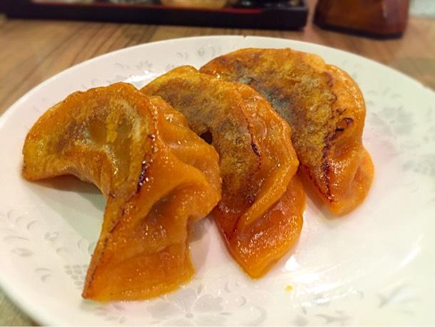 ピリ辛餃子