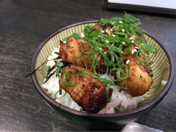 麺やBar 渦 ランチセット 炙りチャーシューご飯
