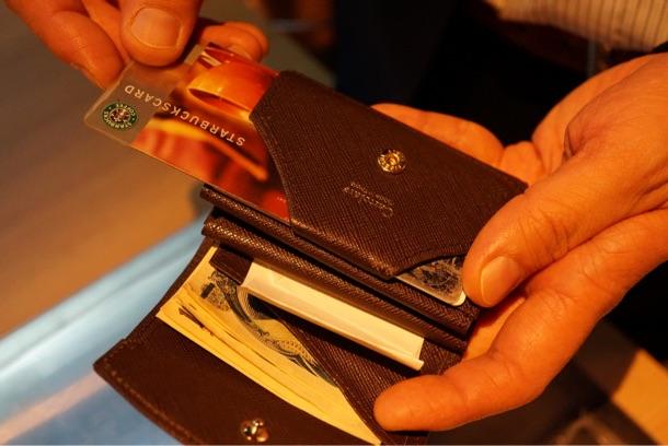 ハンモックウォレットコンパクト カード部分