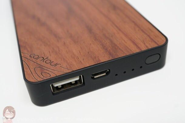 Hamee 天然木使用「モバイルバッテリー」