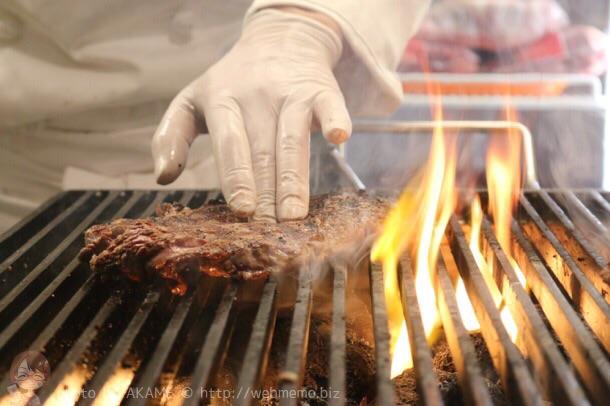 厚切りリブロースステーキ 焼く