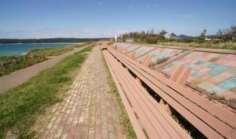 道の駅 とぎ海道「世界一長いベンチ」