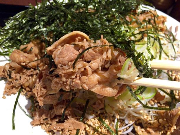 肉そばの美味しいお肉