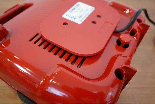 テスコム マルチホットサンドメーカー「HSM530-R」 電源コード巻き取り可能