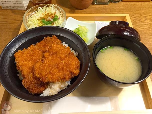 ランチセット「かつ丼」
