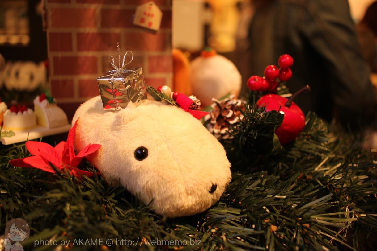 カピバラさん 10周年 コラボ記念カフェ in TOKYO(Sign外苑前)クリスマスバージョン