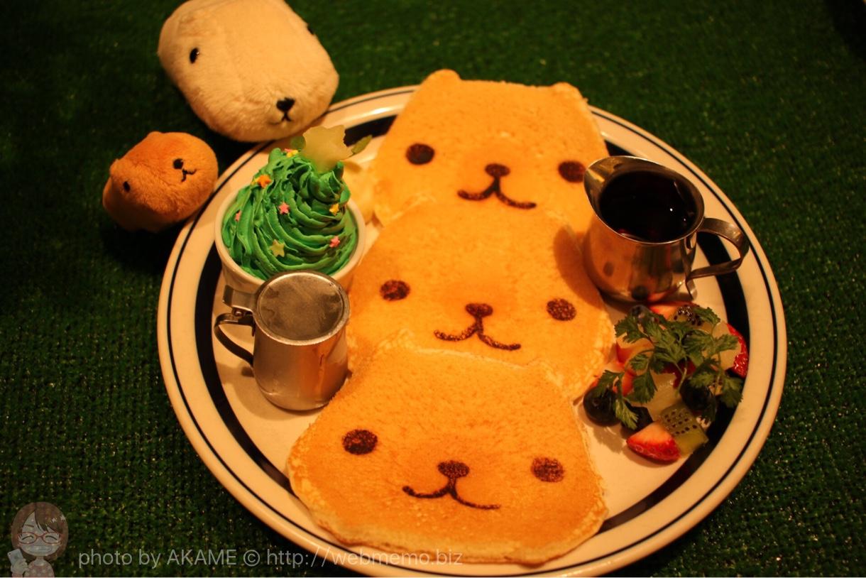 ってきた!のすのすパンケーキ〜特製クリスマスバージョン〜 1,180円