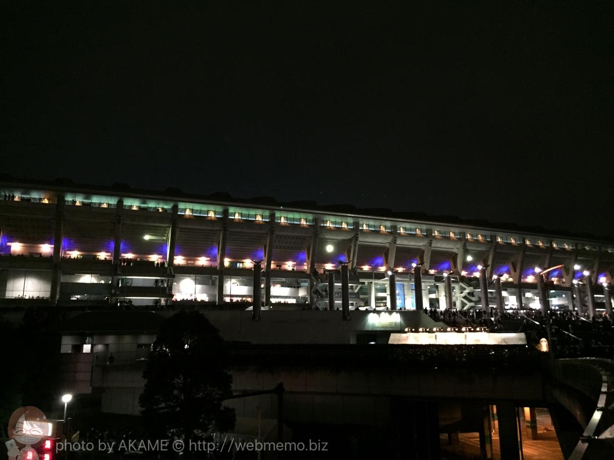 横浜国際競技場 外観の写真
