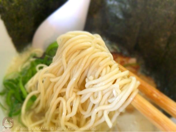 のりラーメン 麺