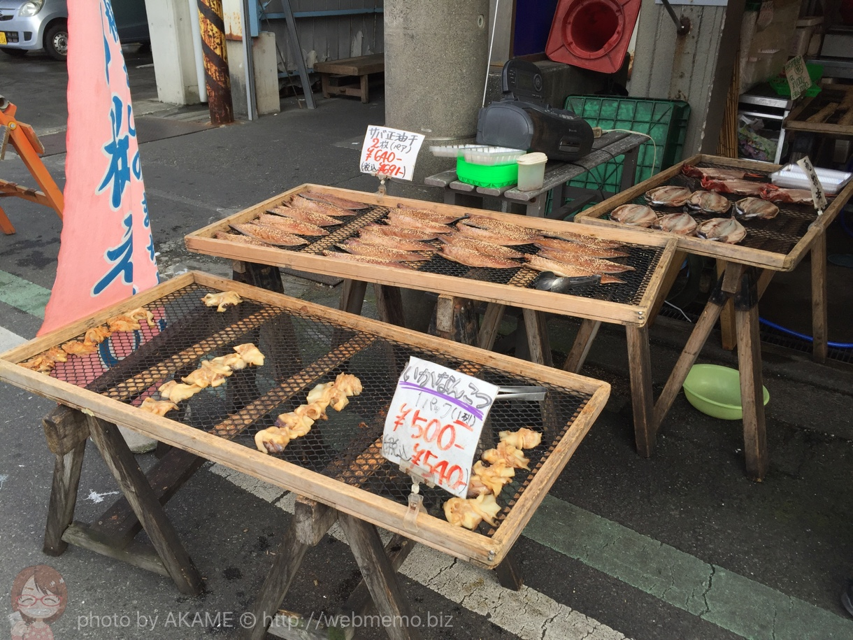 沼津港の市場