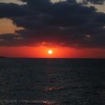 [Å] 宮古島観光 西平安名岬が水辺線に沈む夕日が見える絶景スポット