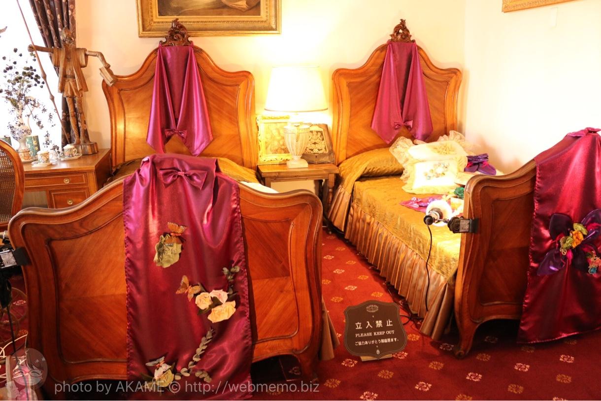北野外国人倶楽部 ベッド
