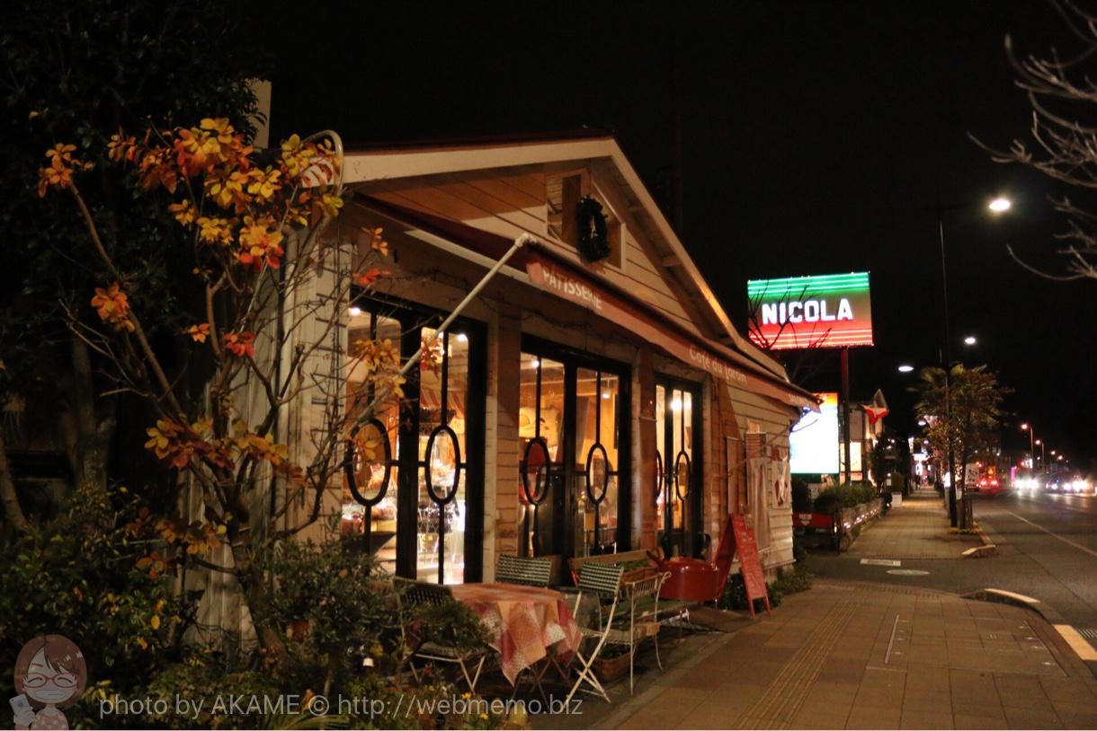 福生駅 国道16号線の昼間とは全然違う夜の商店街の様子 11