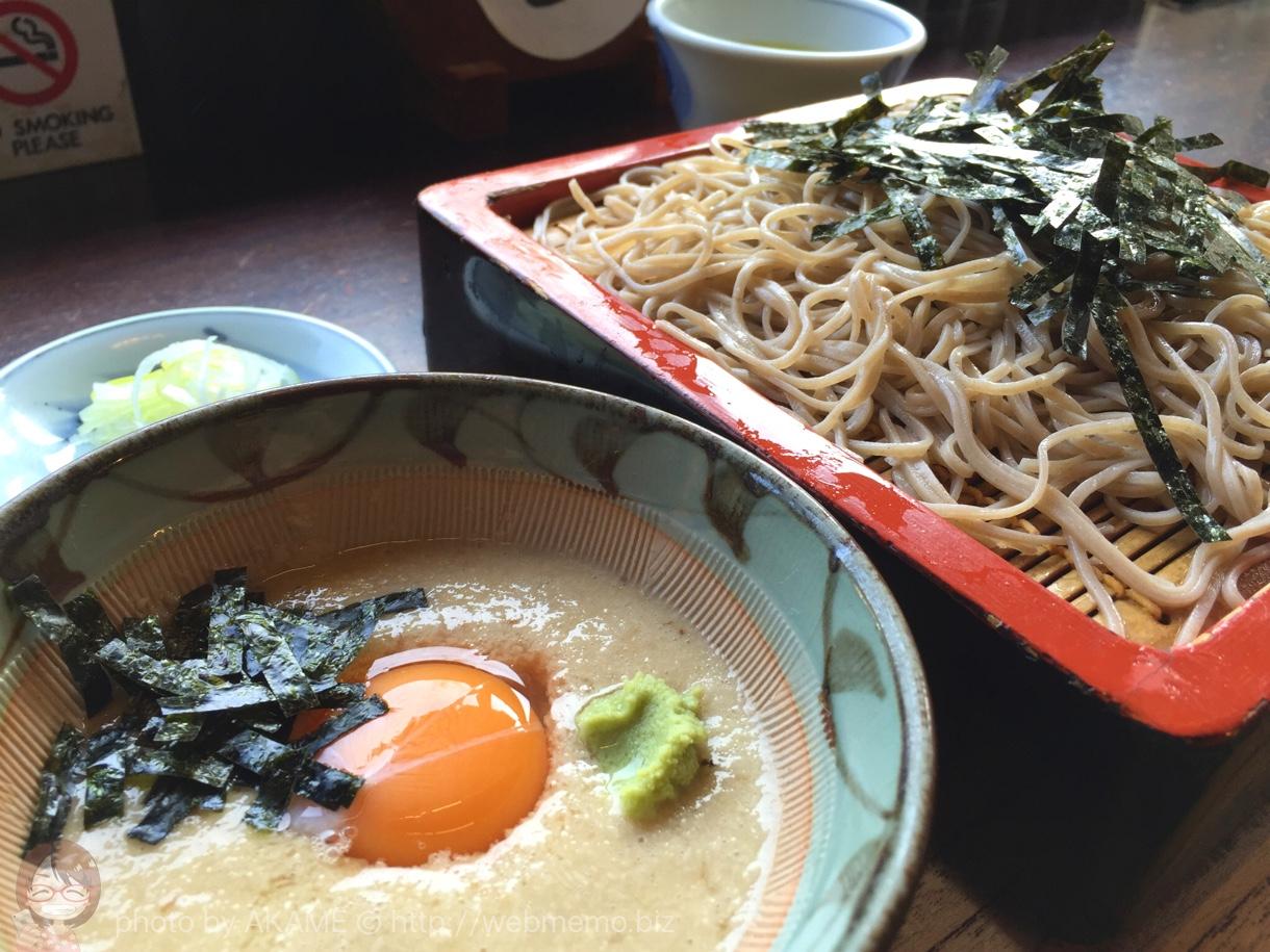 箱根湯本「はつ花」の水を一切使わない自然薯そばが予想を超えた旨さで絶品!