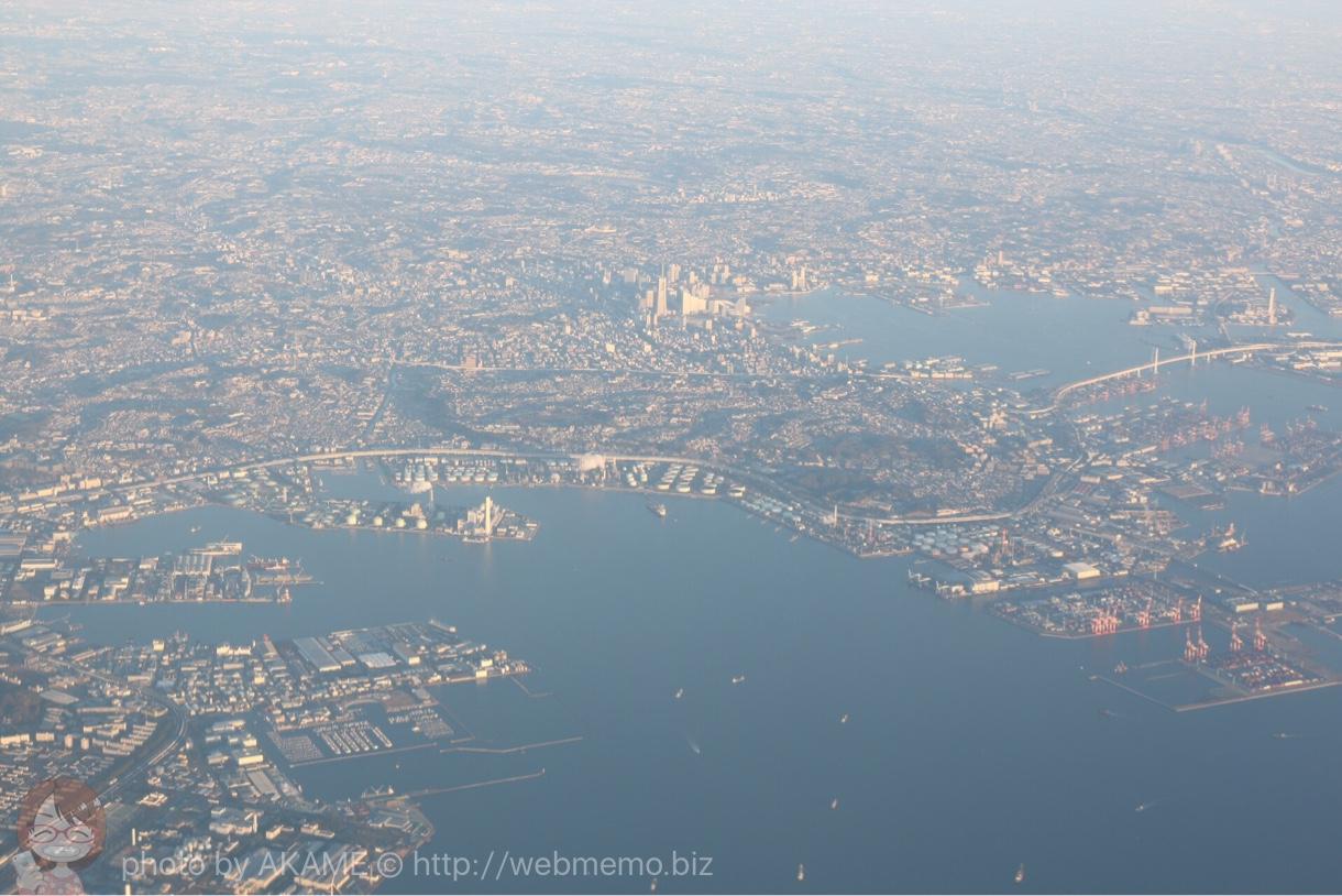 上空から見た横浜・みなとみらい