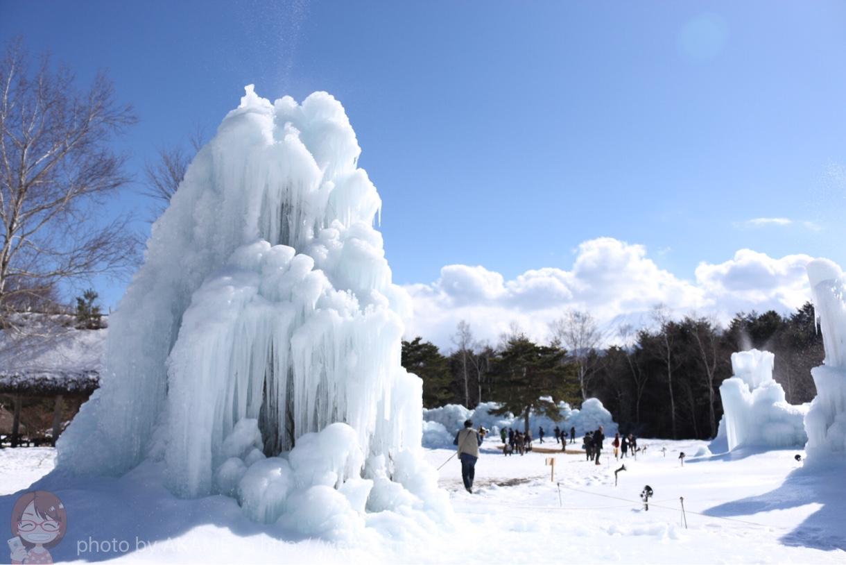 竜宮城と雪景色