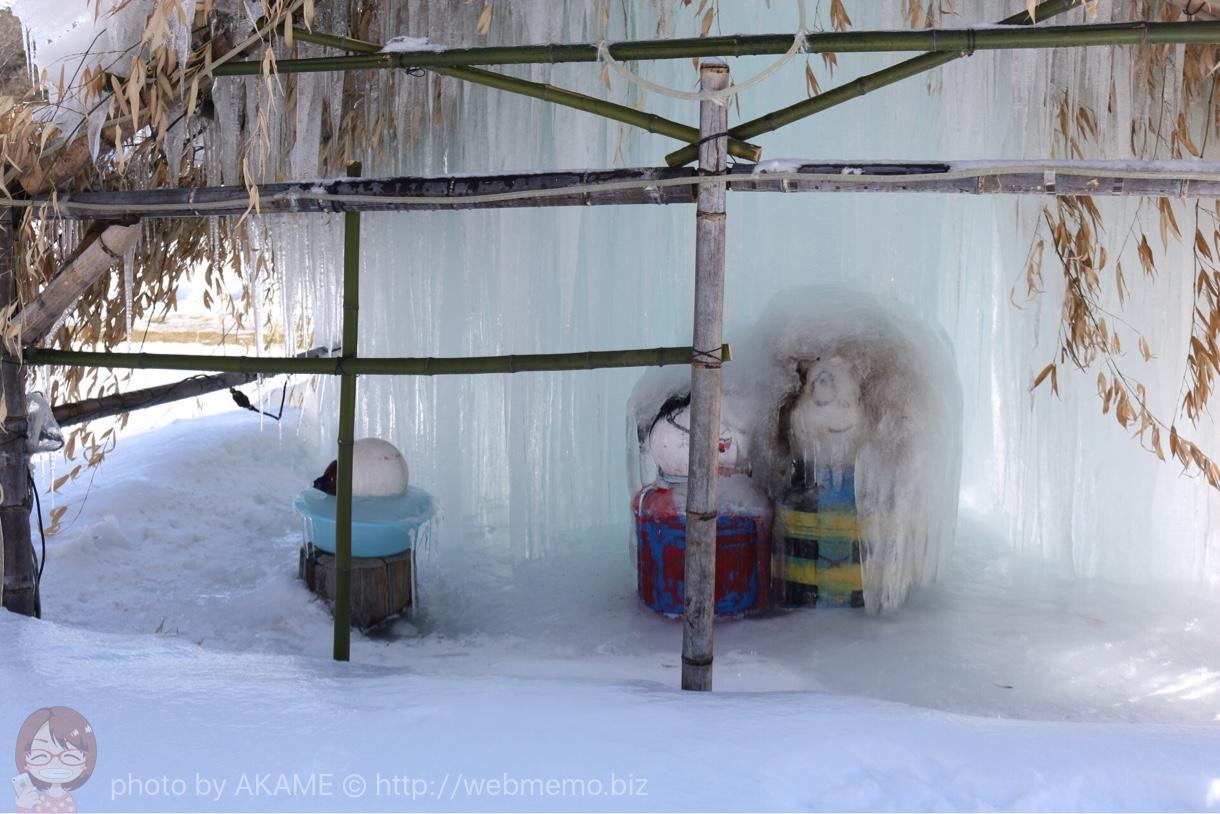 樹氷の中のゲゲゲの鬼太郎