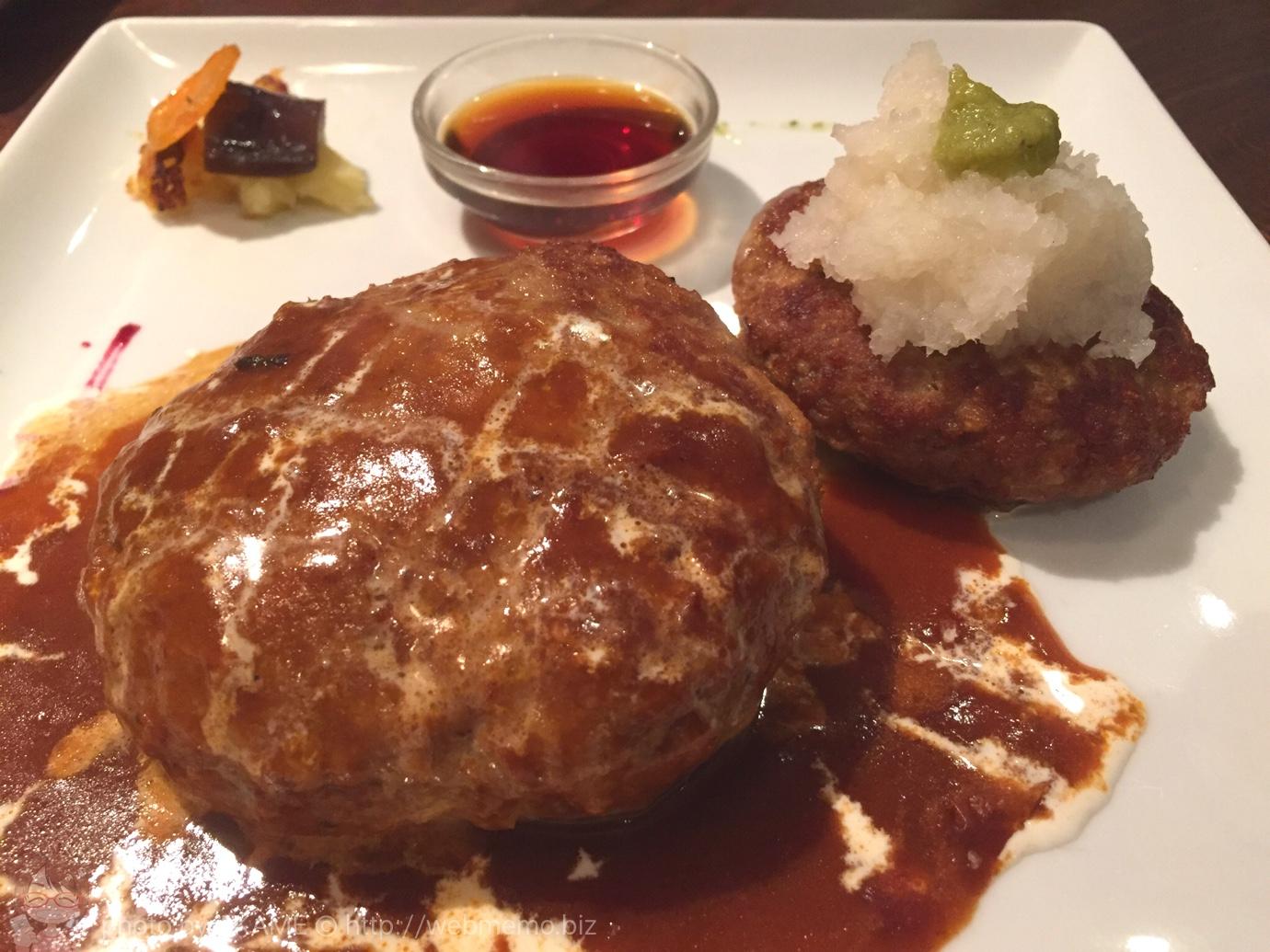 キッチンハセガワ デミグラスハンバーグ定食