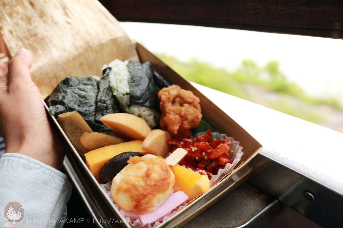 1番人気の大鉄のお弁当「大井川ふるさと弁当」