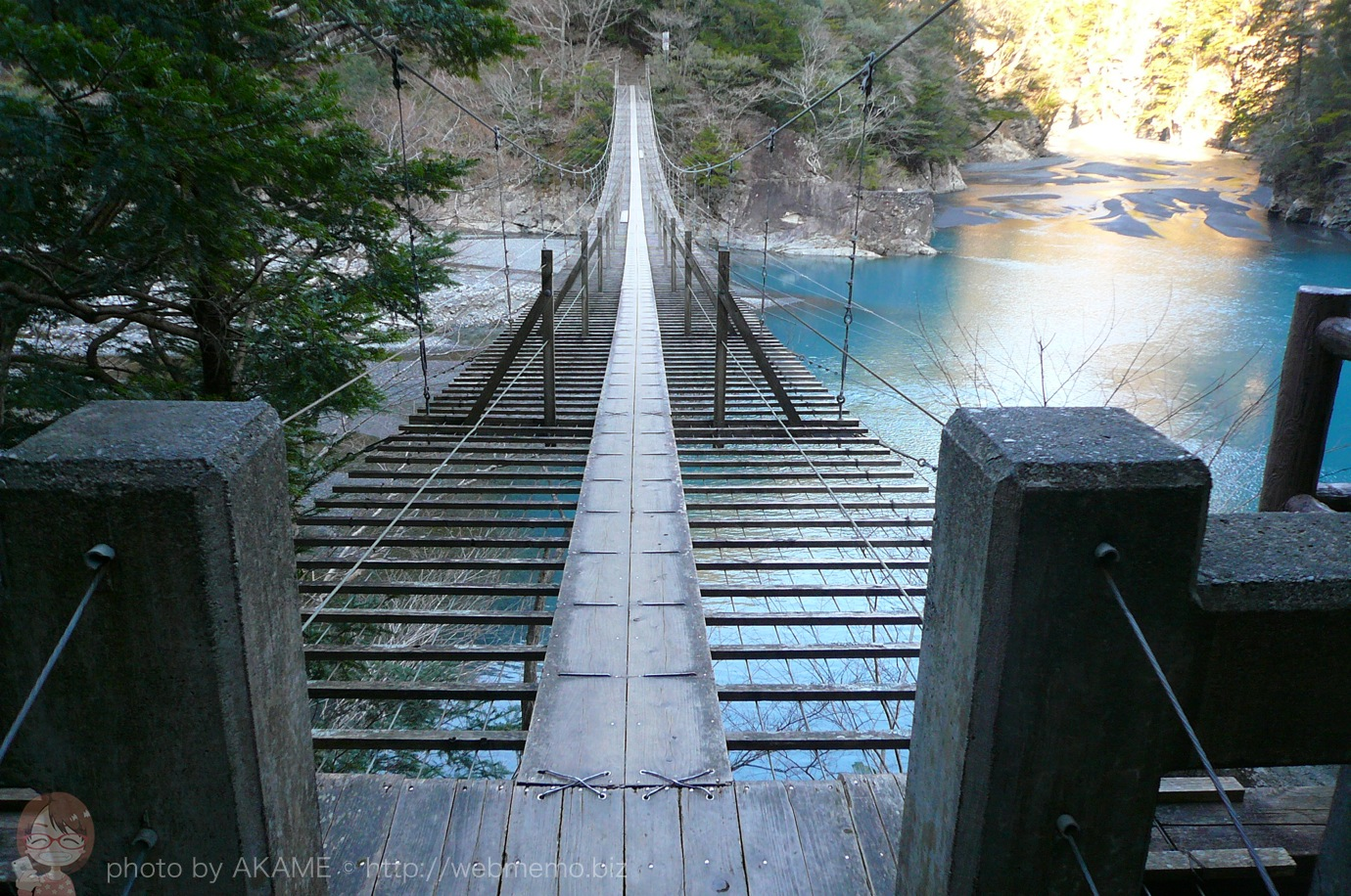 夢の吊り橋 入り口