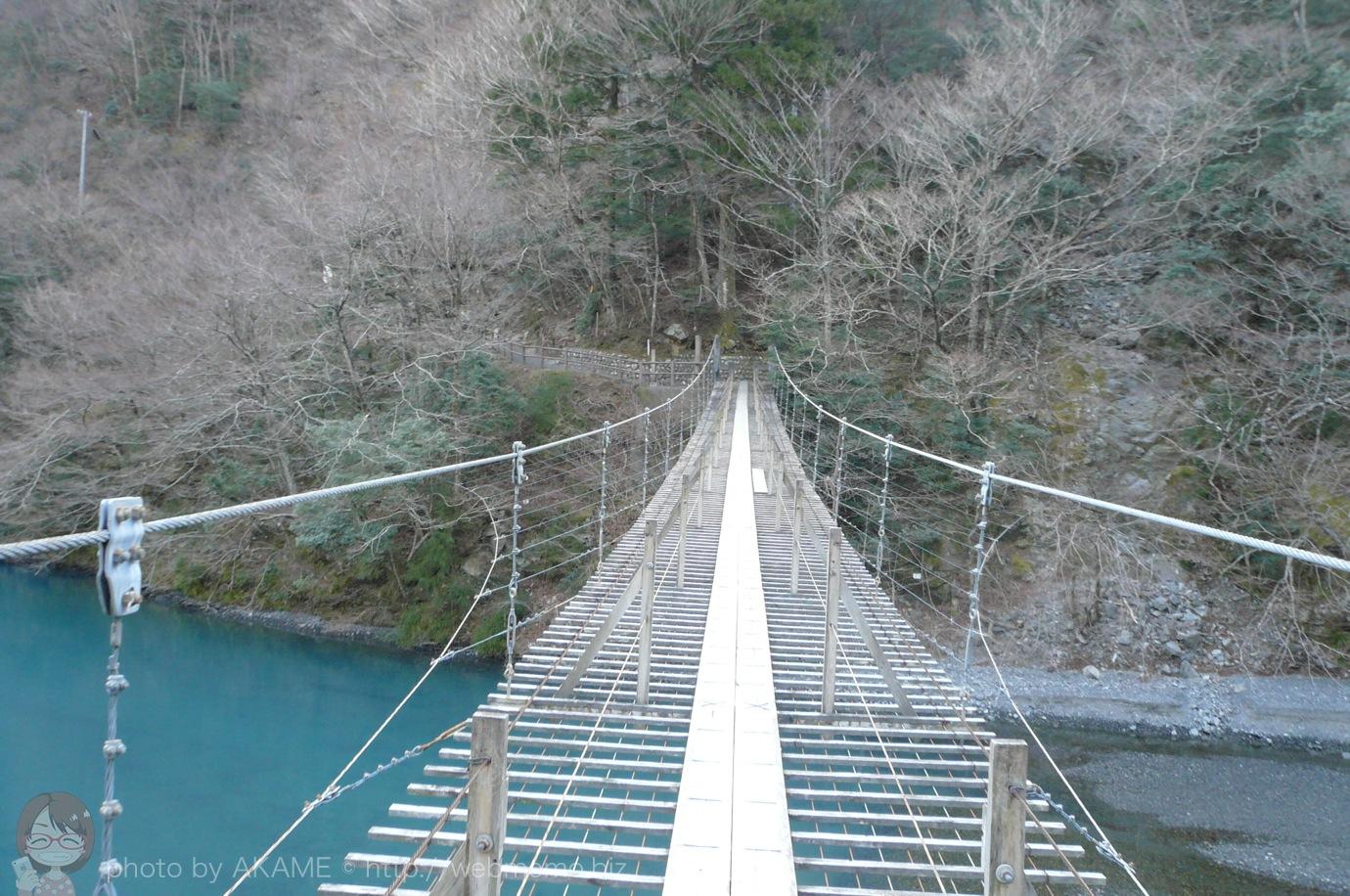夢の吊り橋 先が長い・・・