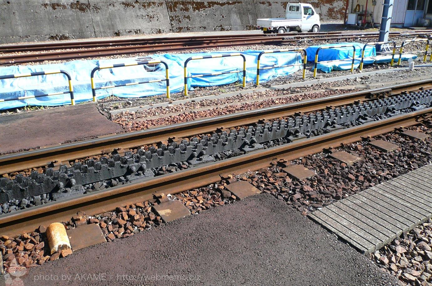 線路の歯車