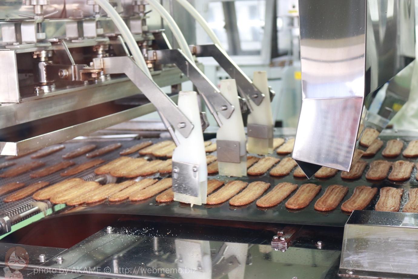 うなぎパイの製造工程 最大の見せ場