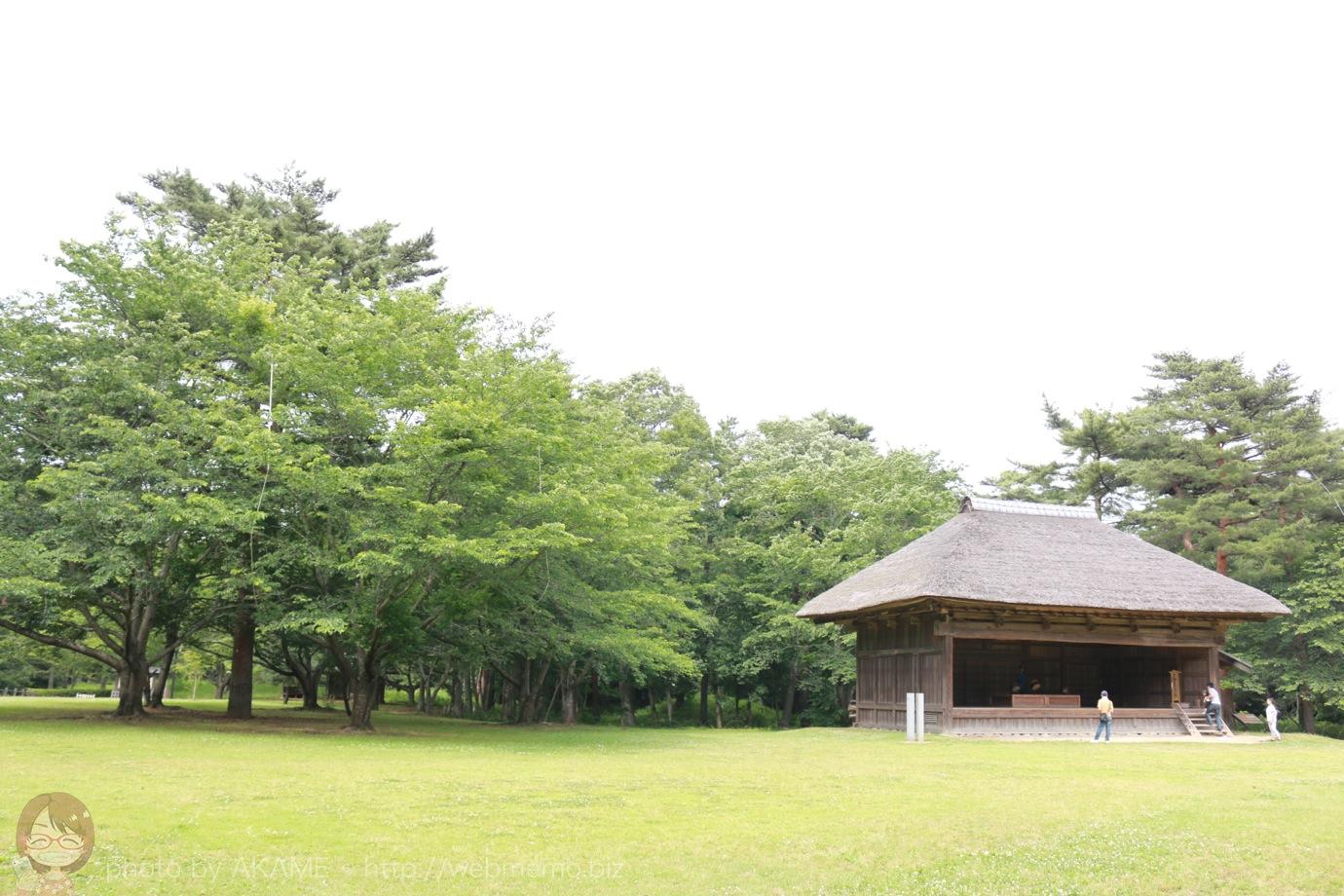 農村歌舞伎舞台