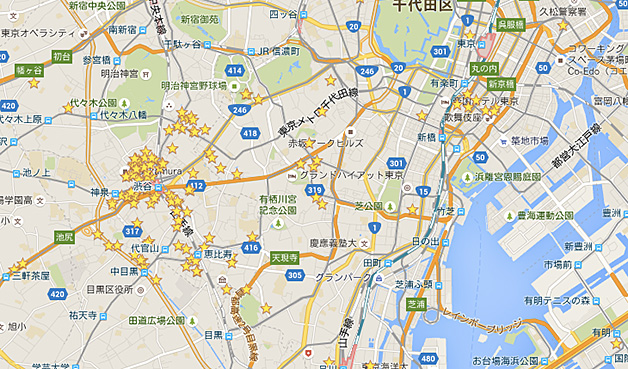 Googleマップで行きたい飲食店情報を管理する方法が便利!現在地からひと目で把握可