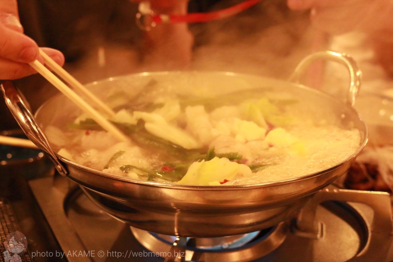 焼きとん・もつ鍋「お多福」 モツ鍋セット