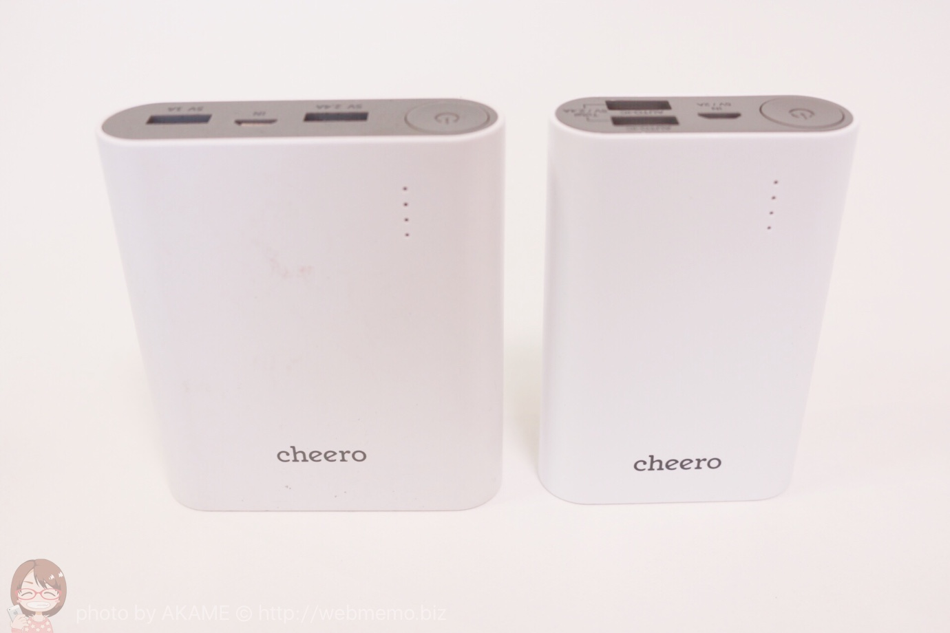 cheero Power Plus 3 比較