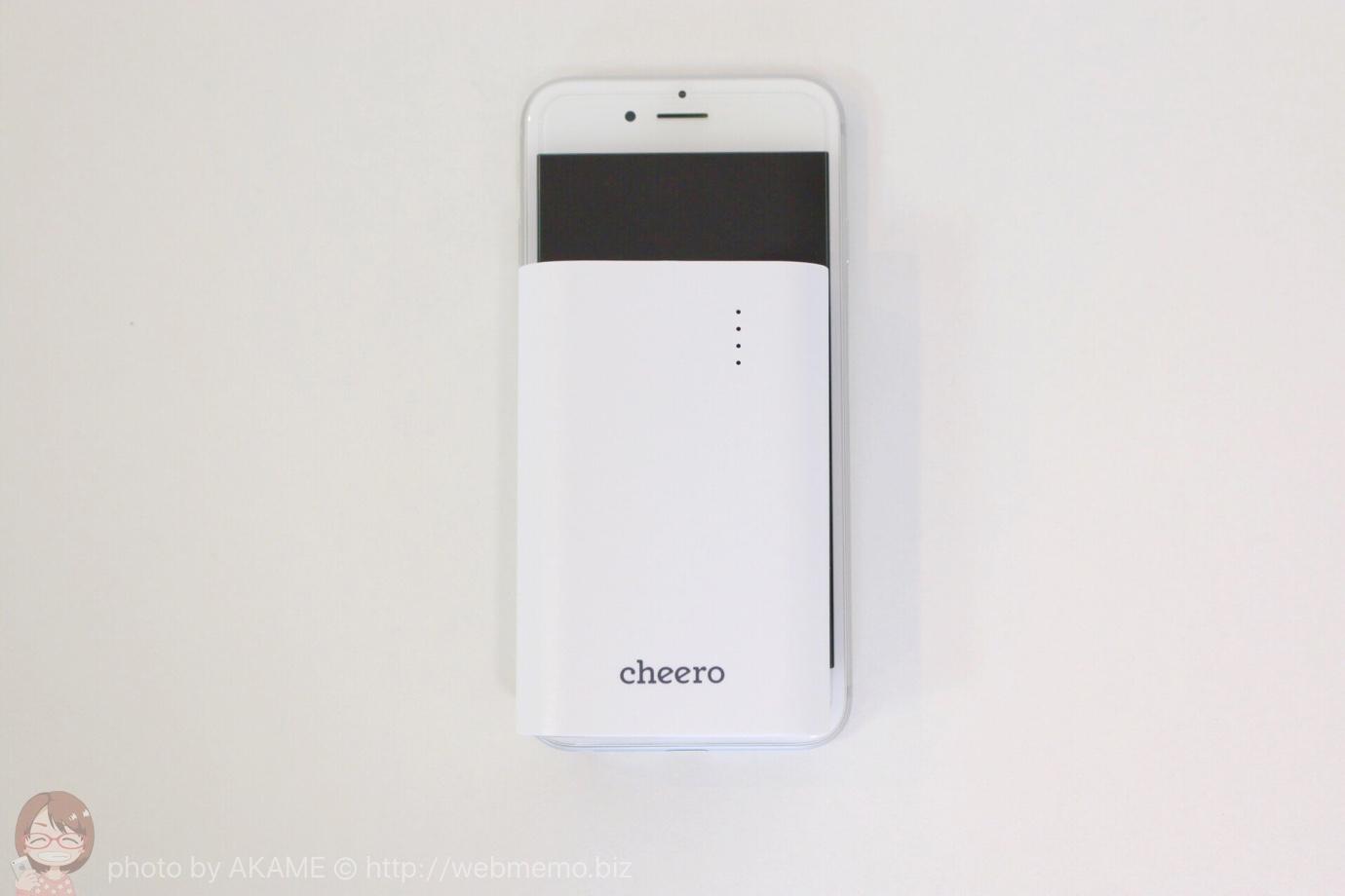 iPhone 6とサイズを比較