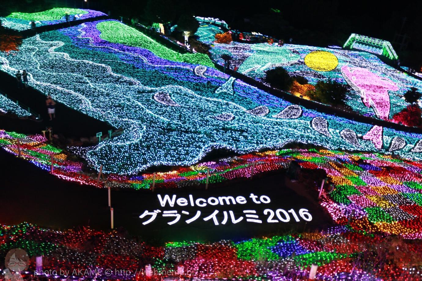 グランイルミは想像以上に豪華でおすすめ!伊豆ぐらんぱる公園で夏のイルミネーション