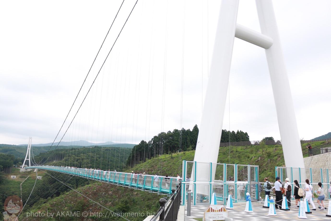 静岡県「三島スカイウォーク」に行くなら快晴の日が絶対におすすめ!
