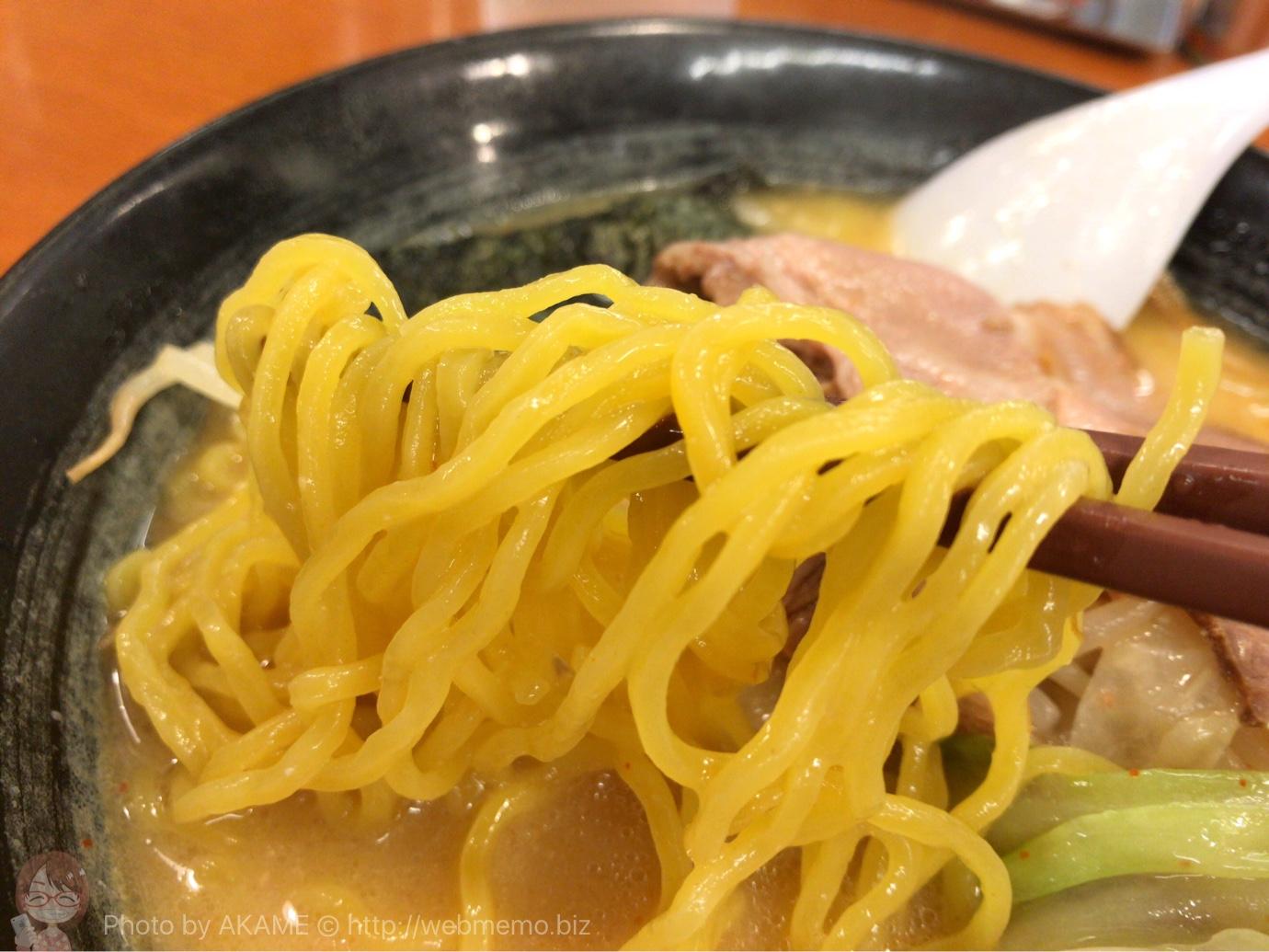 おやじ麺の麺