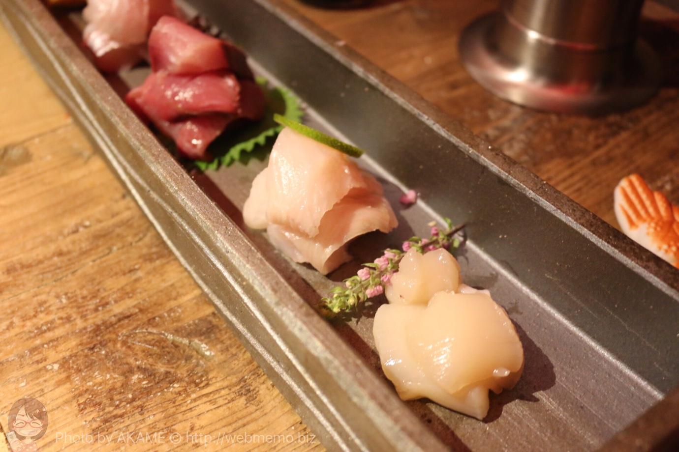 超速鮮魚 5種盛り