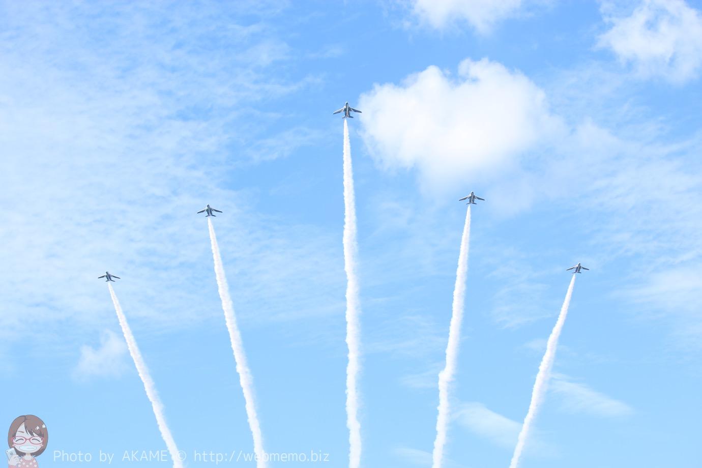 エア・フェスタ浜松でブルーインパルスの圧巻の空の舞を楽しめた!帰りは大混雑…