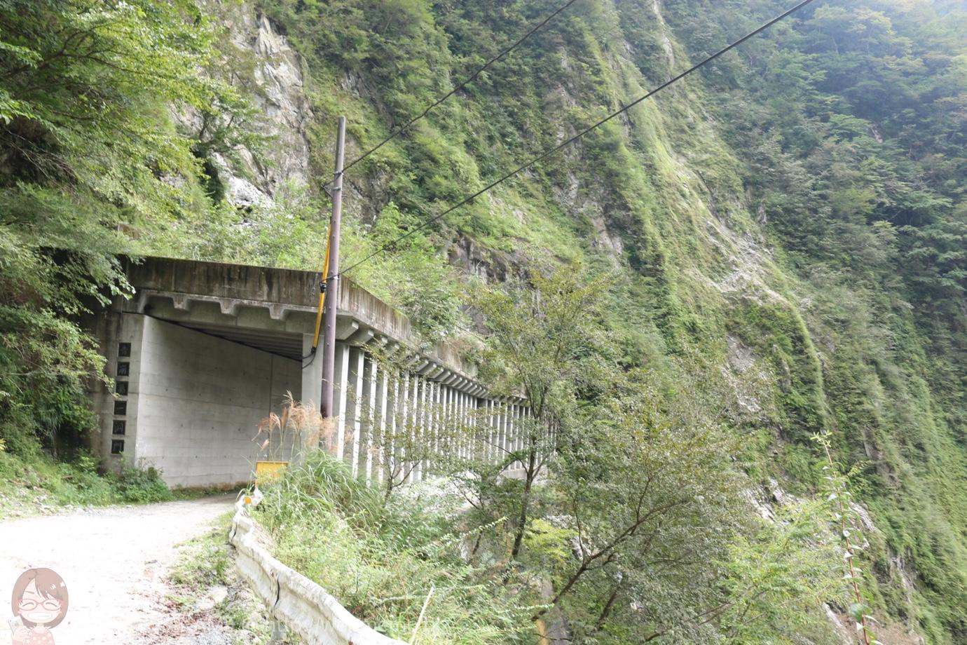 トンネルで抜けた山