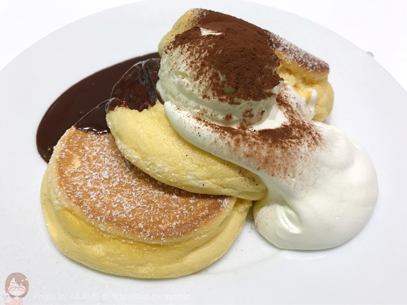 ティラミスハイブリットパンケーキ