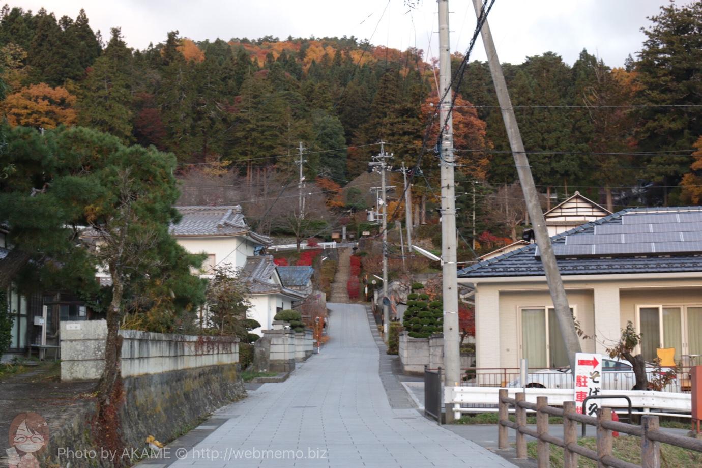 別所神社に行くまでの道中