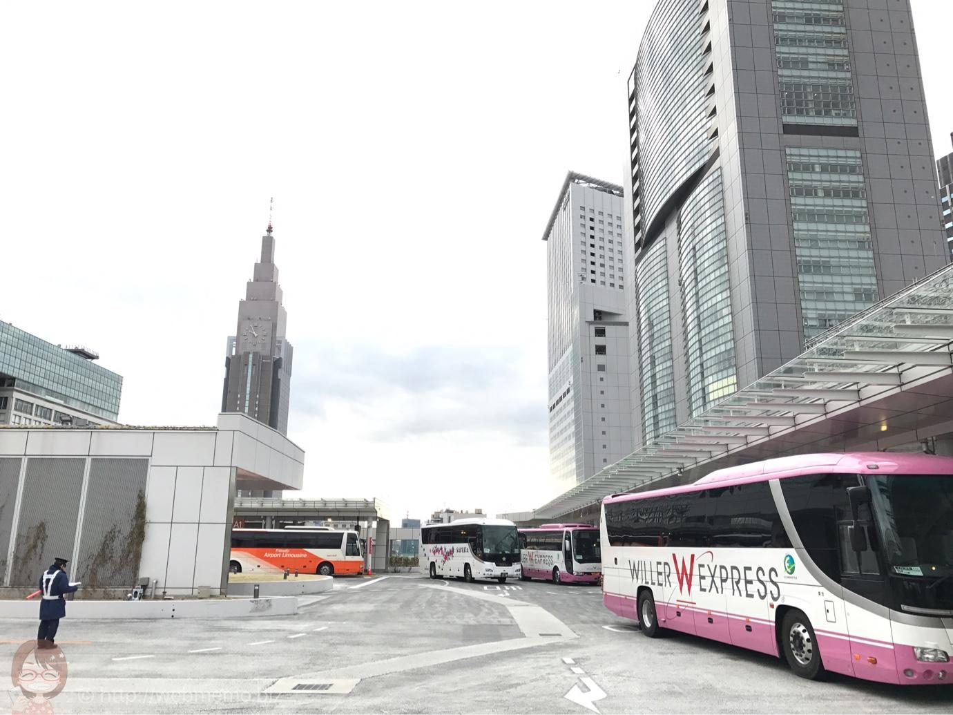 佐久・小諸行き 高速バス