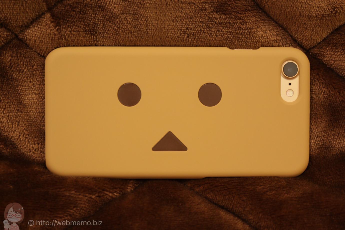 cheero Danboard Case for iPhone 7 ダンボーの絵柄