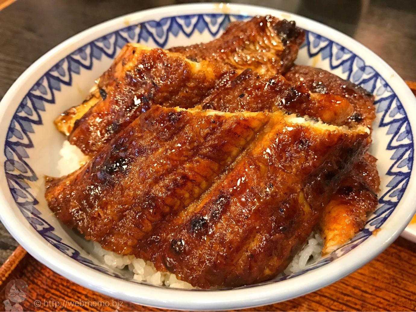 三重県津 うなぎ料理「はし家」は女性ひとりで気軽に入れて煙なし!鰻たっぷりで安い