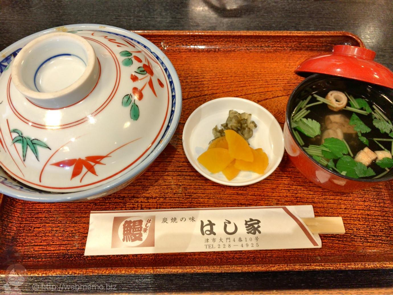 上うなぎ丼(2,340円)