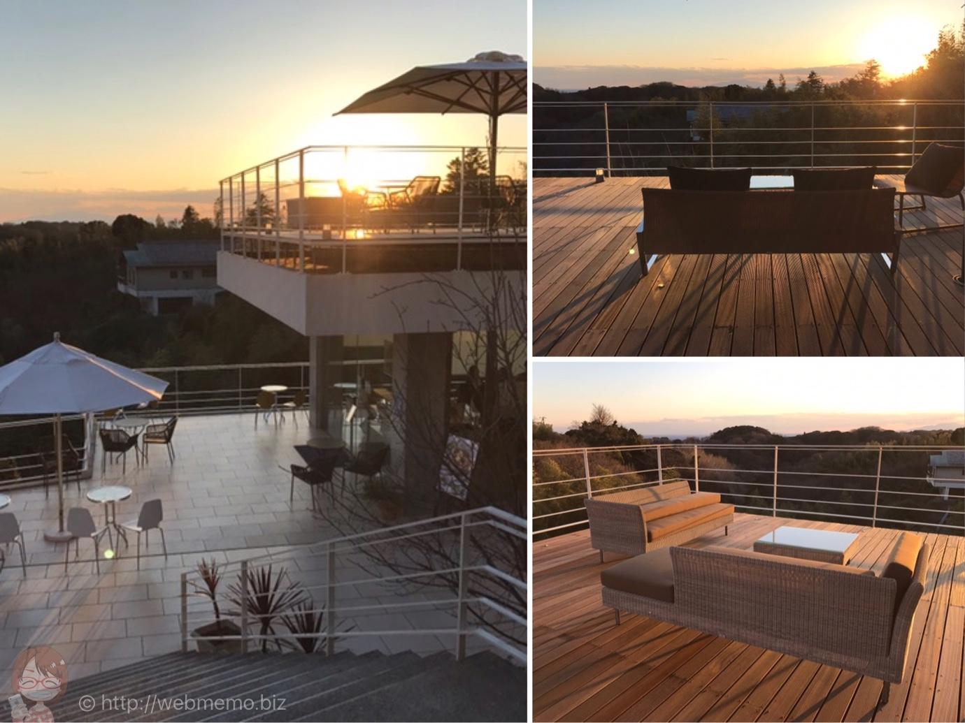 鎌倉カフェ「ル・ミリュウ」から見る夕日が贅沢!日本とは思えない絶景