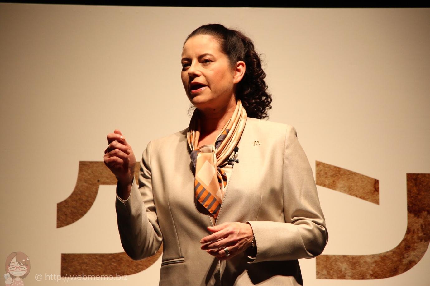 代表取締役社長兼CEO サラ・エル・カサノバ