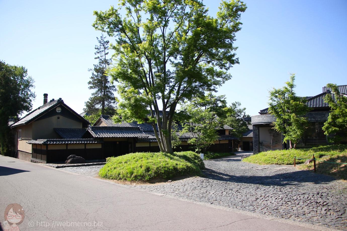 長野県小布施の街並み