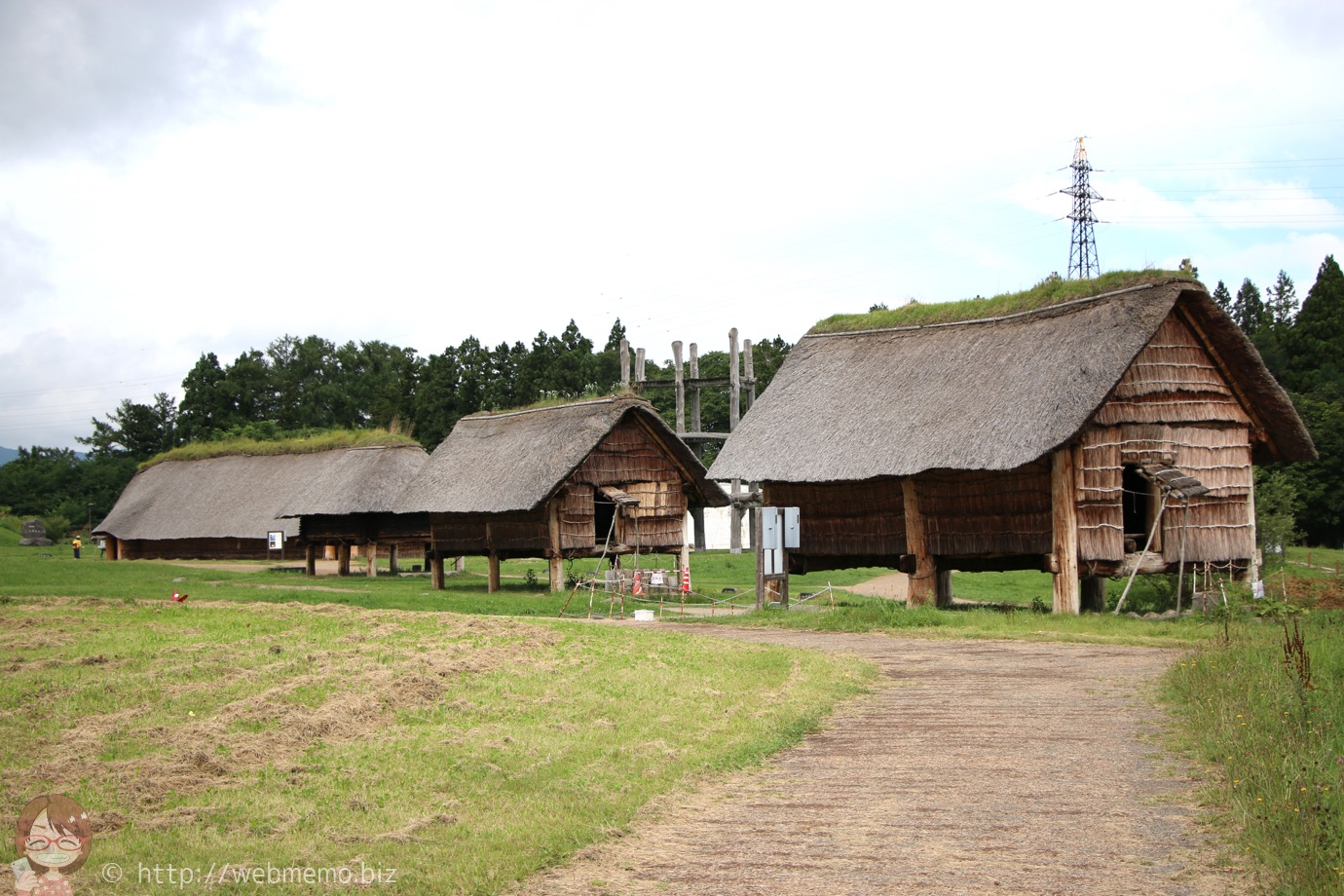 三内丸山遺跡 掘立柱建物