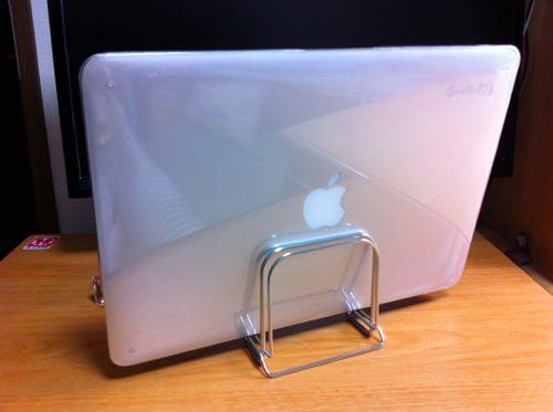 MacBookAirとまな板のコラボ