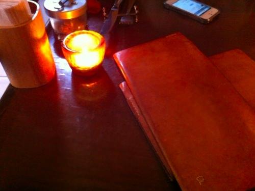 ランプとメニュー